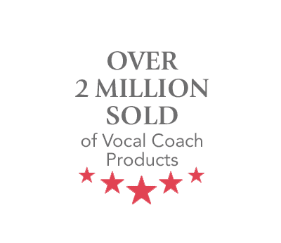 Over 2 Million Sold of Vocal Coach Products
