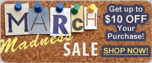 March Vocal Coach Sale