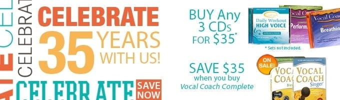 Vocal Coach 35 Years